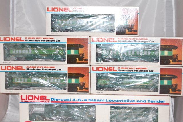 Lionel Southern Passenger Set
