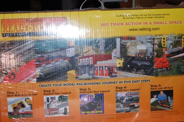Rail King Union Pacific Set