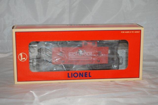 Lionel Monopoly Caboose 36646