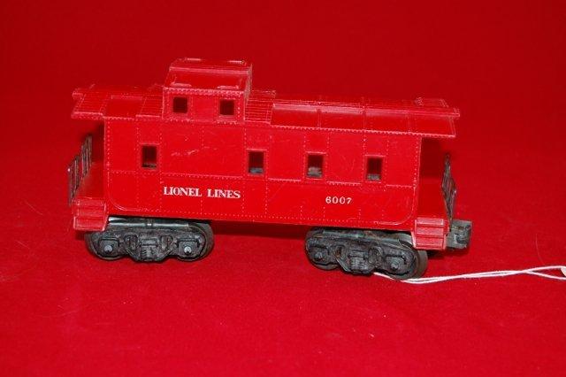 Lionel 6007 Red Caboose