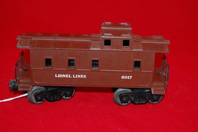 Lionel 6017 Caboose