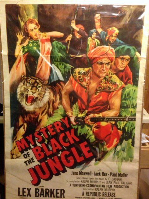 "Movie Poster ""Mystery of the Black Jungle"""