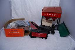 Misc Lionel Accessories and a Cabooses