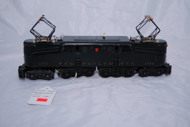 1955 Lionel 2340 Pennsylvania GGI Locomotive