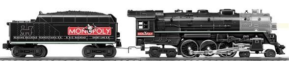 Lionel Hudson Monopoly 638678 Locomotive and Tender