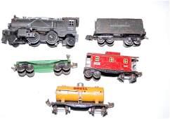 Pre-War Lionel Train Set 249 Engine