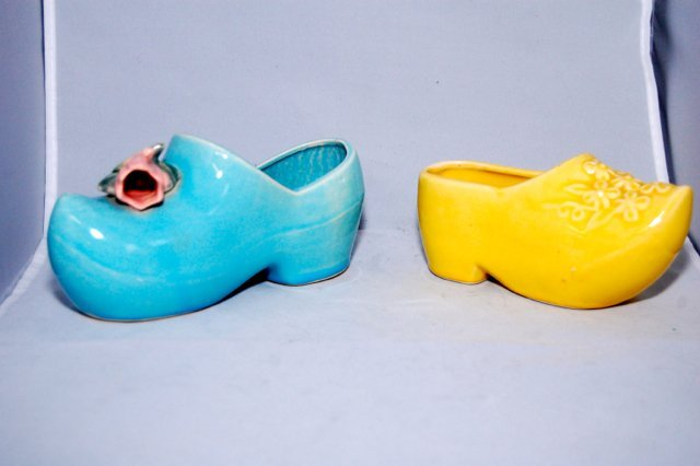 Mccoy pottery clogs