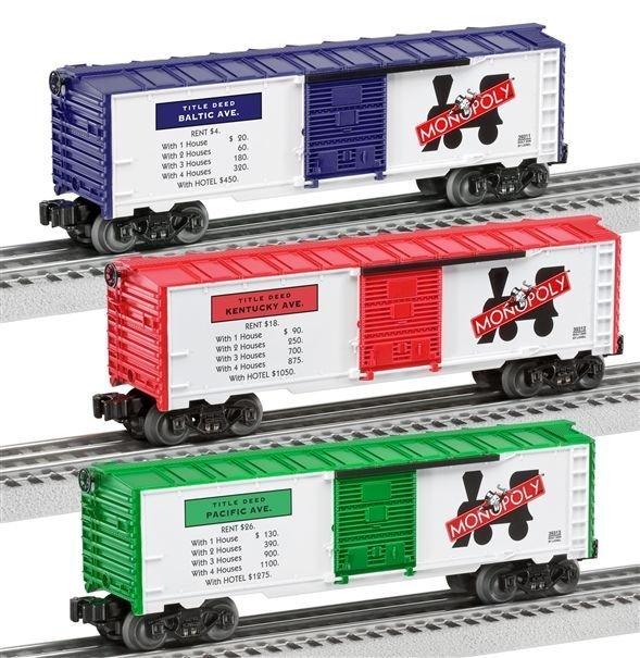 Monopoly boxcar set 39344