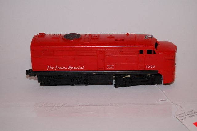 Lionel Texas special 1055 Engine