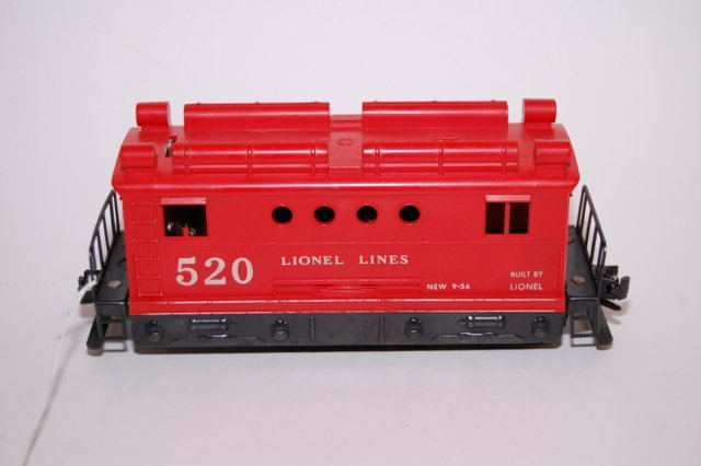 Lionel 520 box cab electric locomotive