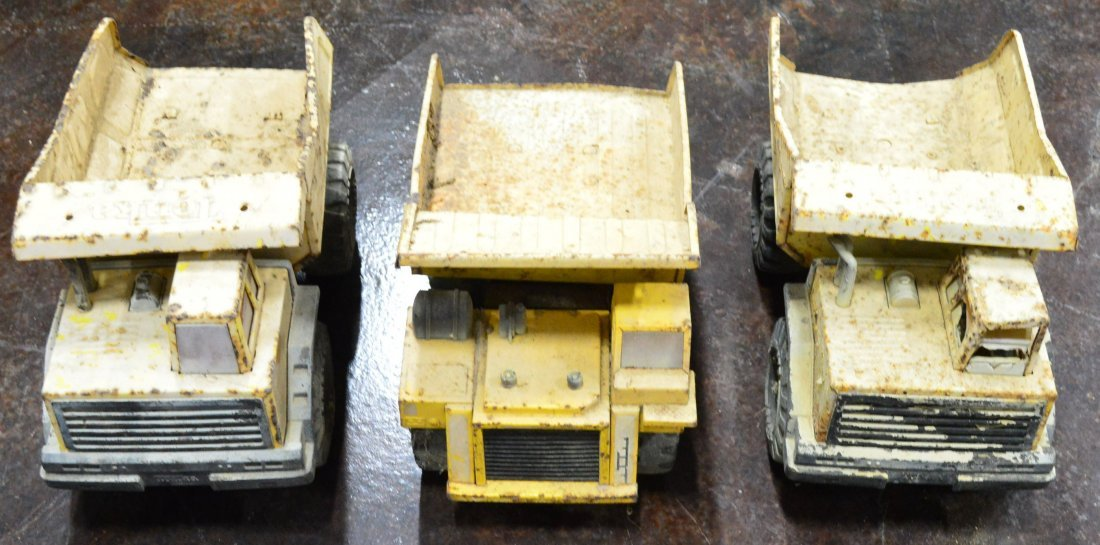 Lot of 3 1970's Tonka Truck Toys