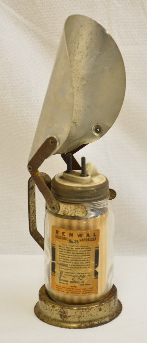 Antique 1930's Renwall Vaporizer
