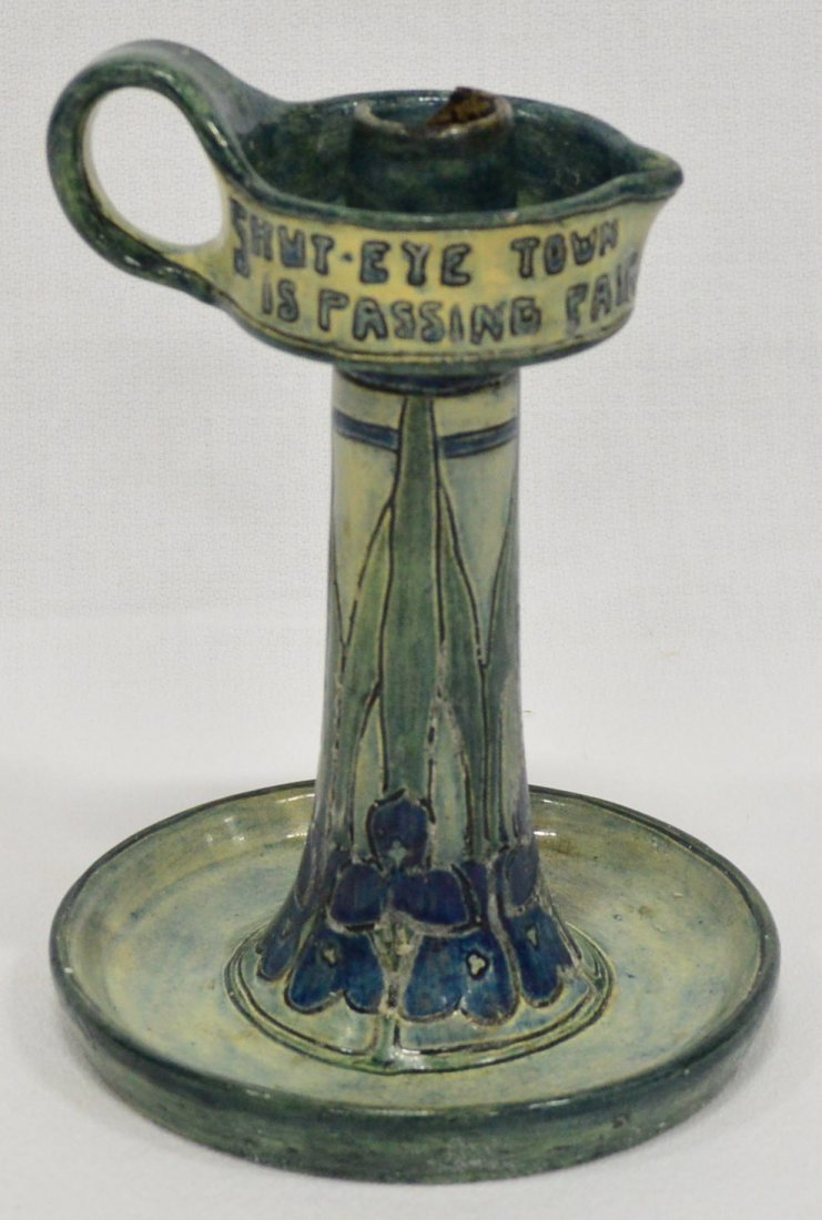 Newcomb New Orleans Candlestick