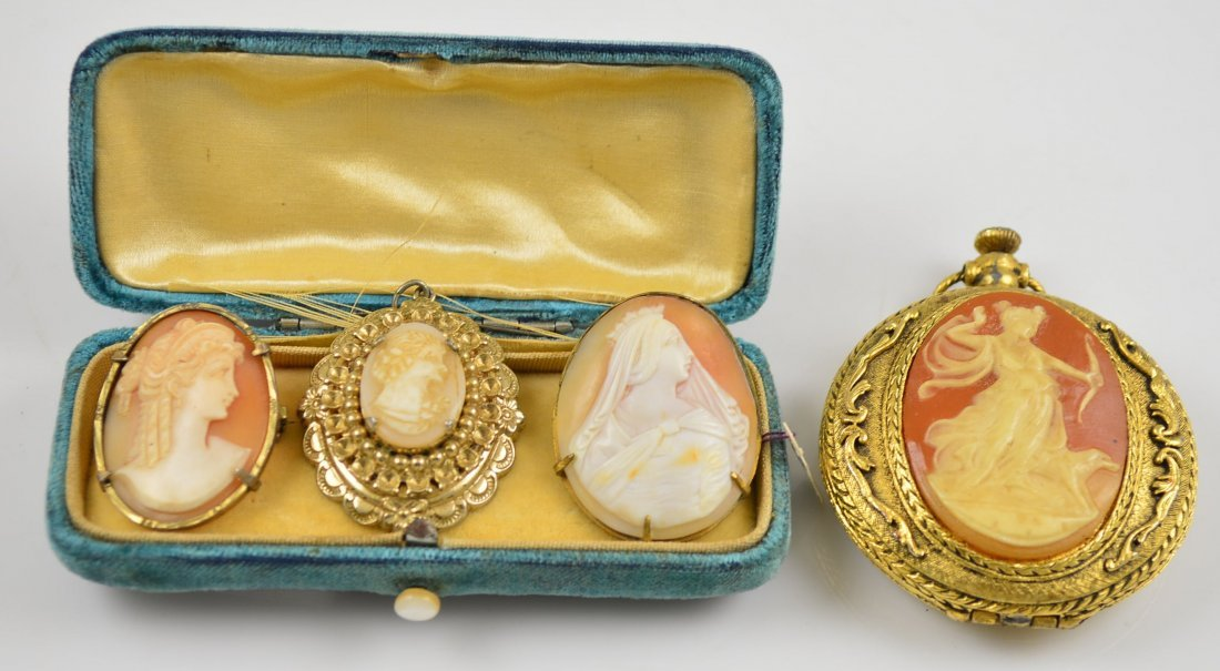 Lot of 4 Cameo Items