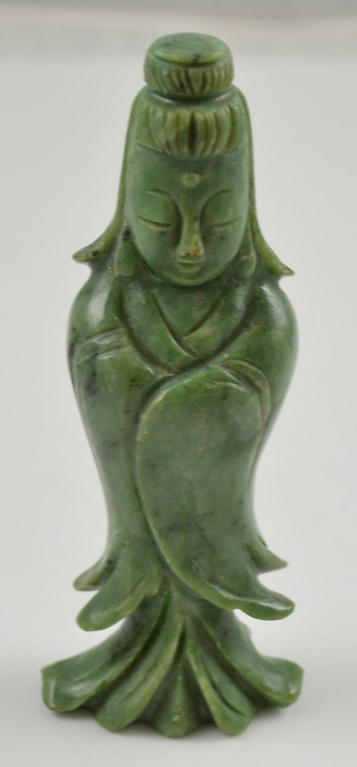 Very Old Figural Jade Carving