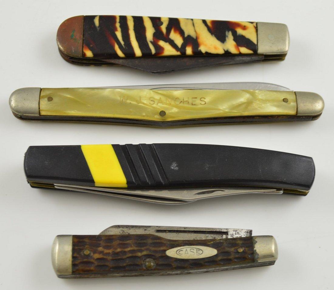 Lot of 4 Vintage Pocket Knives