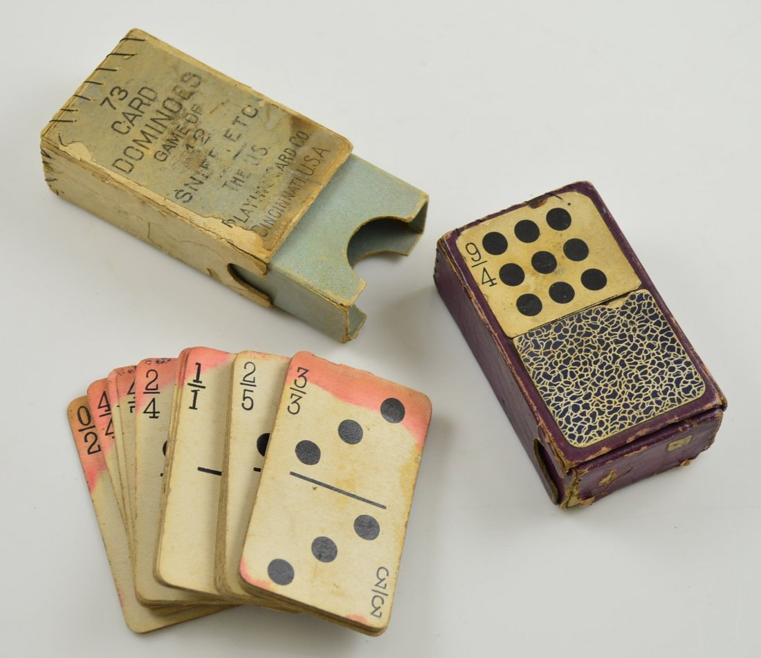 Sniff Dominoes Playing Cards
