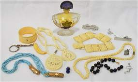 Assorted Collection Perfume Bottle & Jewelry