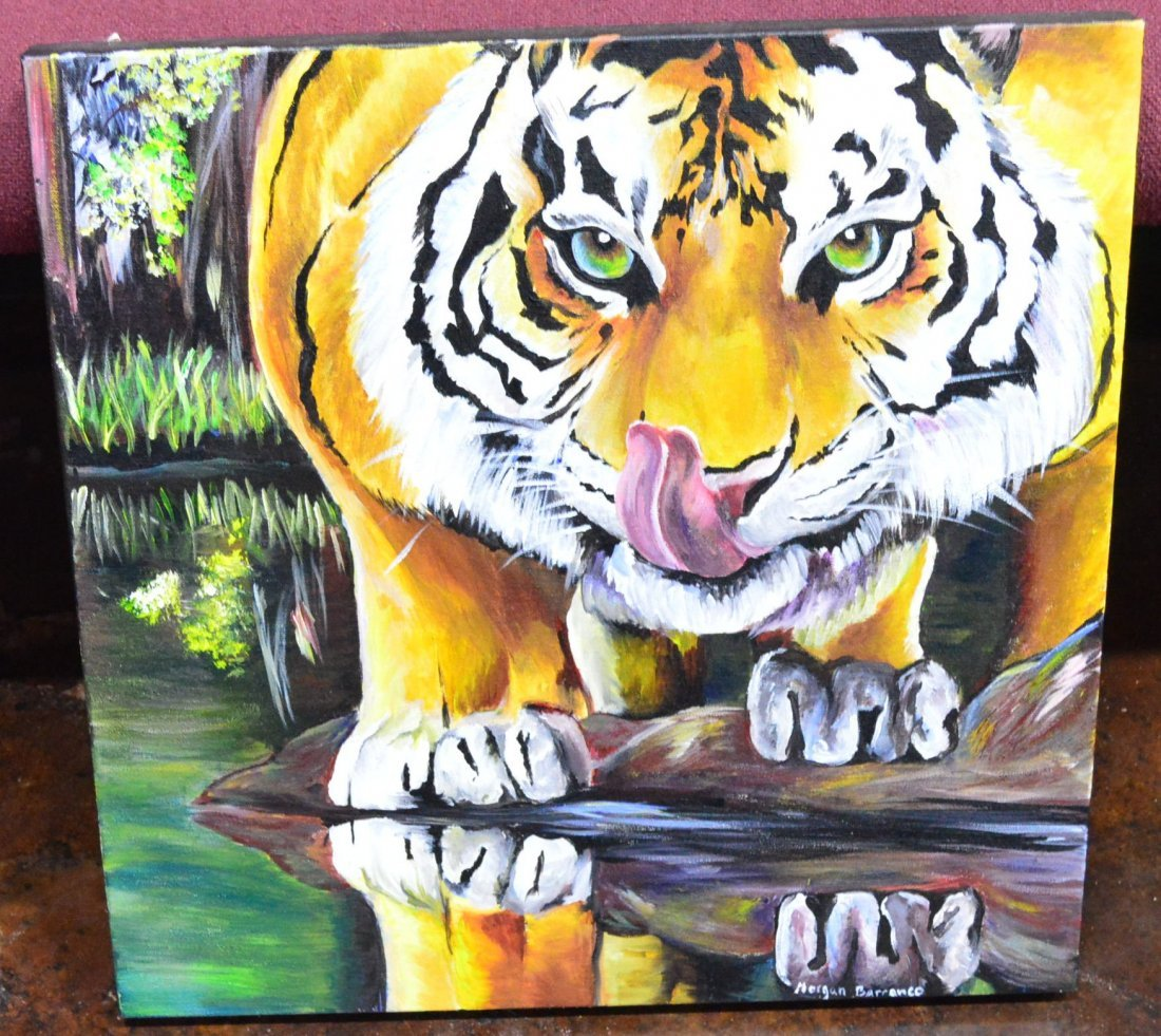 On the Hunt Oil on Canvas