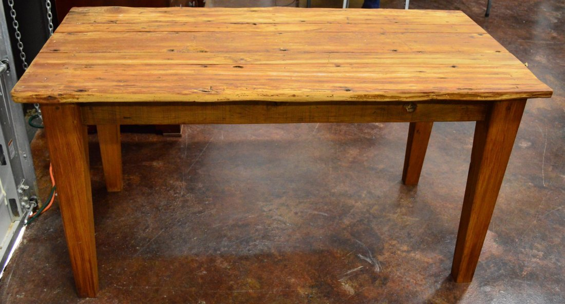 Rustic Cypress Table