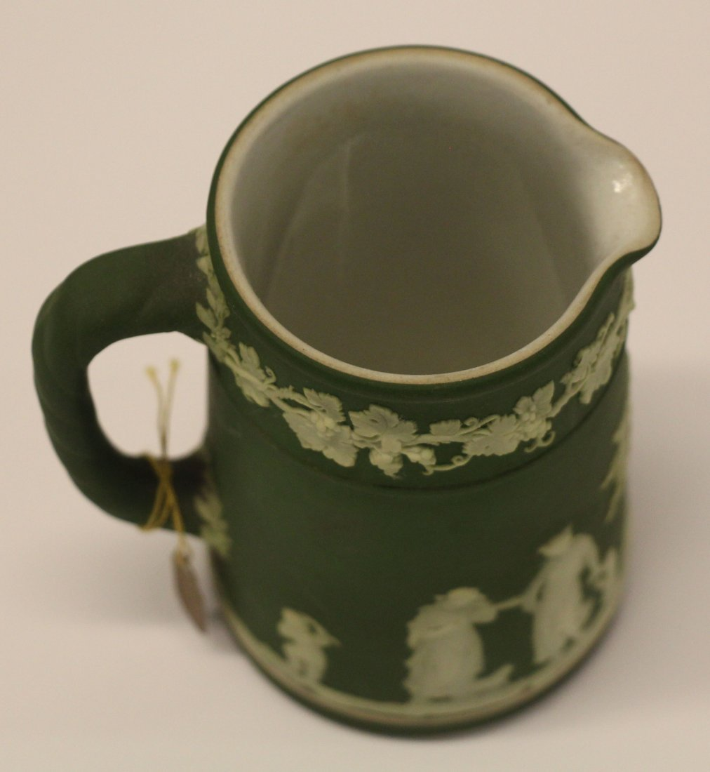 Wedgwood Small Green Pitcher