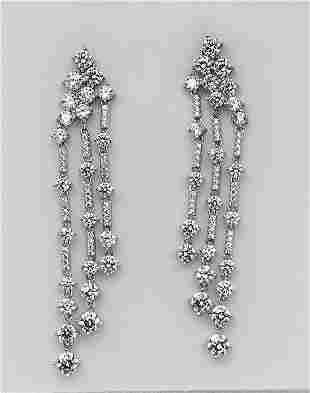 Chandaliar Creation, Diamond 18k W/G Overlay