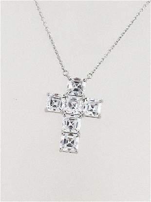Creation, Diamond Panda Bear Necklace .47 Ct 18k gold
