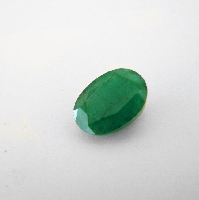 Natural Zambian Emerald Oval Shape 5.39 CT 12.4X9.7mm