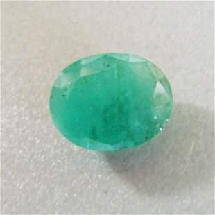 Natural Zambian Emerald Oval Cut 4.47Ct 12.5x10.2x5