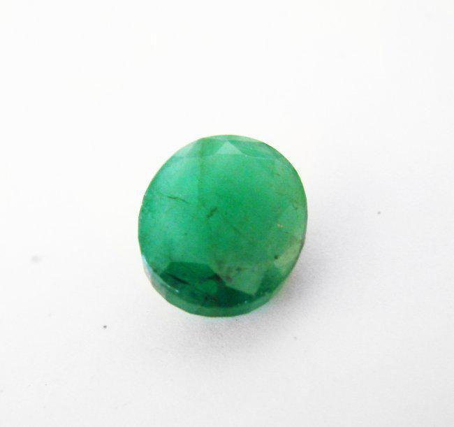 Natural Zambian Emerald Oval Shape 2.10 CT8.9X6.9X4.9MM