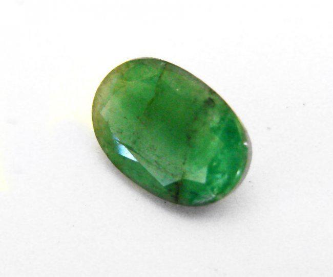 Natural Zambian Emerald Oval 4.25 CT 13.5x9x5.1mm