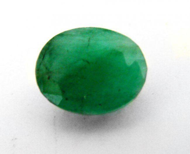 Natural Zambian Emerald Oval 6.11CT 13.1x10.4x6.6mm