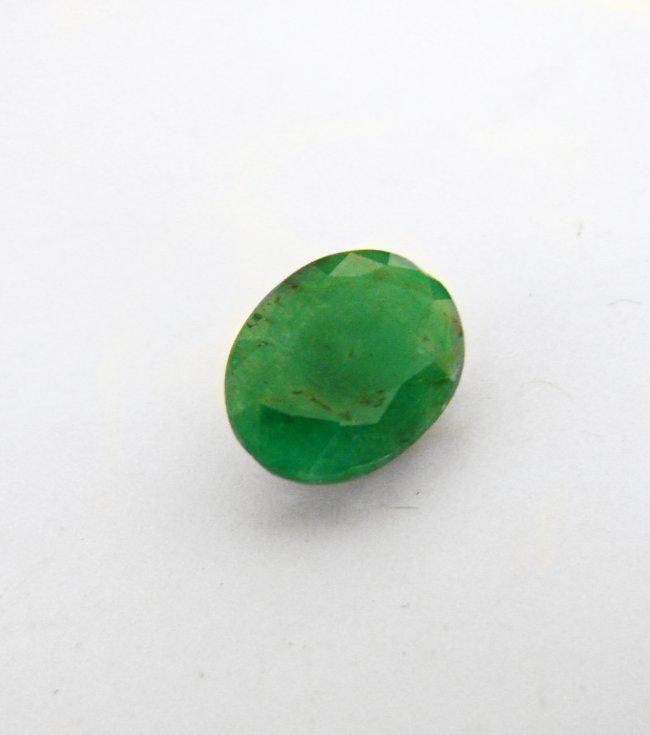 Natural Zambian Emerald Oval Shape 1.27 CT 8X6X5.6mm