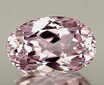 Pink Amethyst Oval 8.96 CT 16.1x12.2x7.3mm