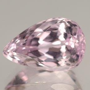 Pink Amethyst Pear Shape 7.37CT 16.3x12.2x7.6mm