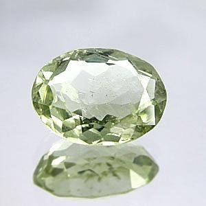 Loose Green Amethyst Oval 12.46CT 17.6X12.2X8.7mm