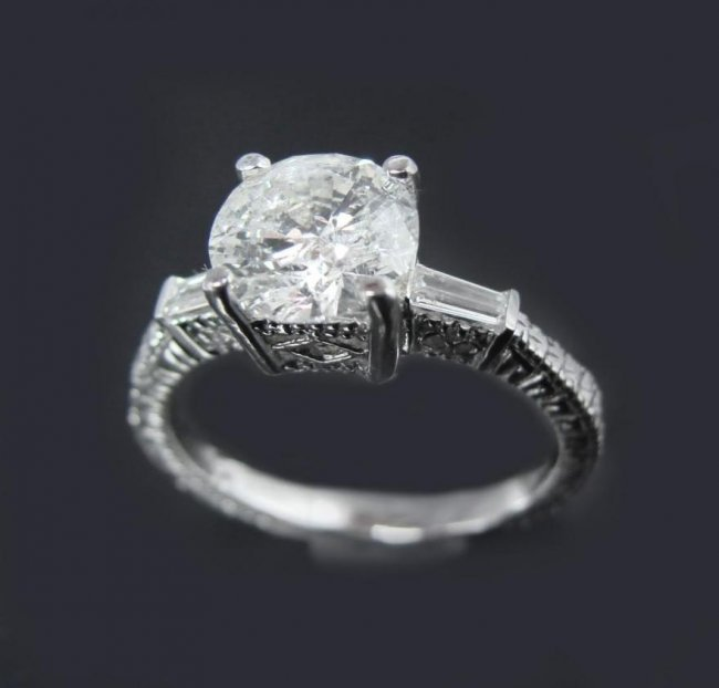 Anniversary Diamond Ring 1.59Carat 14k W/g