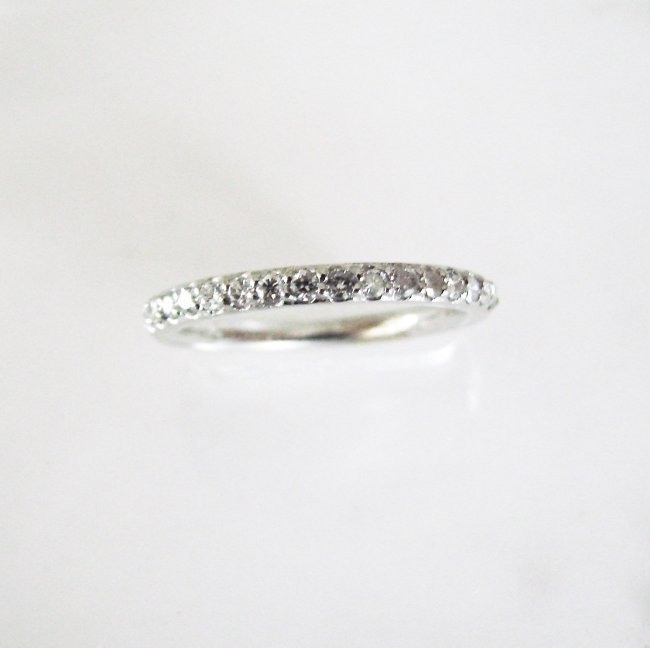 Wedding Ring Diamond :.40 Carat 14K White Gold