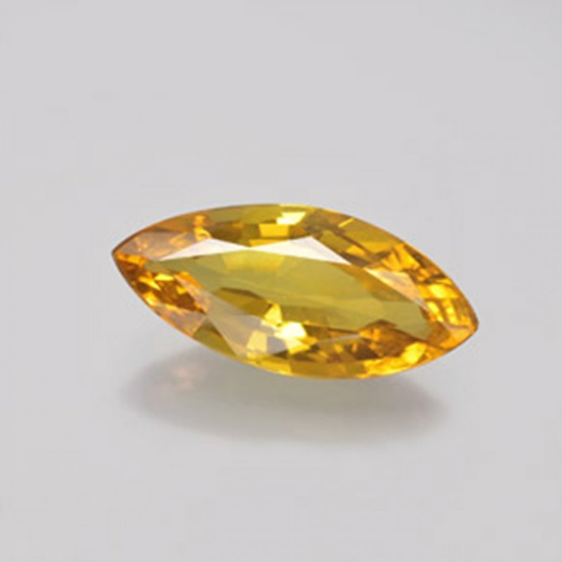 Loose Yellow Golden Sapphire Marquise 1.51Ct 11x5.7x3mm