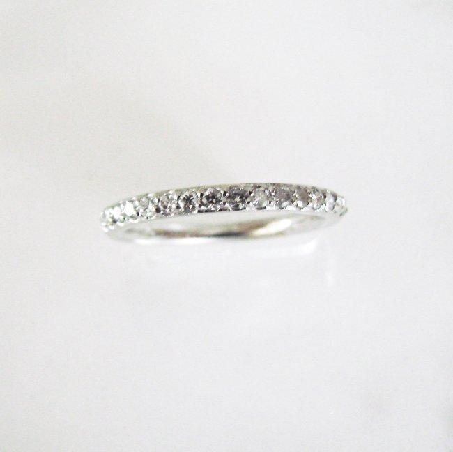 Wedding Ring Diamond :.40 Carat 14K White Gold