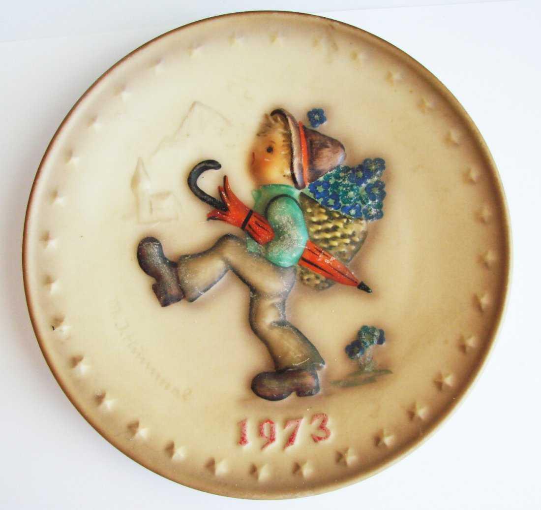 1973 goebel m j hummel 3rd annual plate 7 1 2inch