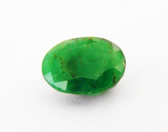 Natural Zambian Emerald Oval 4.23 CT 11.9x9.1x6.1mm