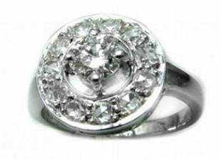 Anniversary Diamond Ring 1.85 Ct 14k W/g