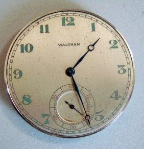 Waltham Pocket Watch #20166183 Riverside A /19 Jewells.