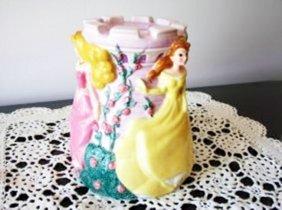 Ceramic Original Disney Princess Piggy Bank