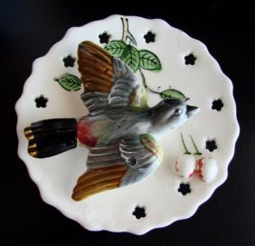 Porcelain Vintage Goebel Brown Bird Figurine