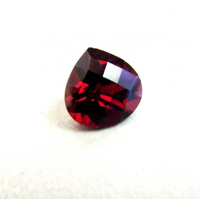 Natural Hessonite Garnet Pear Cut 3.15Ct 9x9x5.9 mm