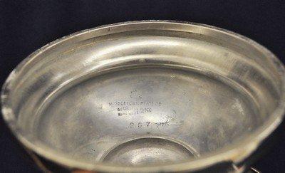 MIDDLETOWN 1885+ QUADRUPLE SILVER PLATE CRUET SET XW - 9