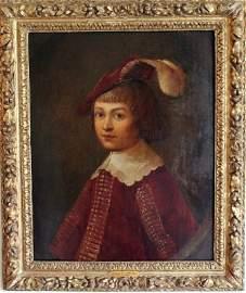 GOVAERT FLINCK (CLEVES 1615-1660 AMSTERDAM) PORTRAIT