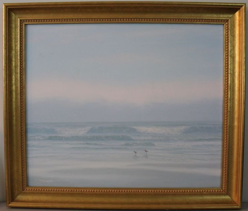 DANNY MCLAUGHLIN ORIGINAL PAINTING LOWCOUNTRY BEACH
